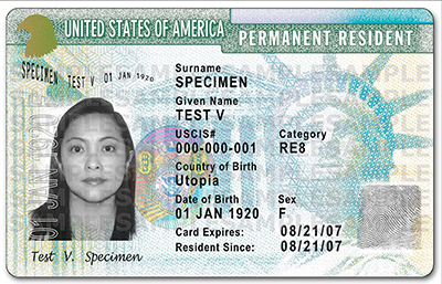 50.000 Green Card available
